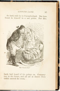 Books:Literature Pre-1900, C.H. Webb. Liffith Lank; or Lunacy. New York: G.W. Carleton, 1876. Author's edition. Later half leather. Rubbing to ...