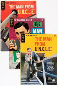 Silver Age (1956-1969):Adventure, Man from U.N.C.L.E. Group (Gold Key, 1965-69) Condition: Average VG-.... (Total: 13 Comic Books)