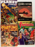 Pulps:Science Fiction, Assorted Science Fiction Pulps Group (Various, 1935-75) Condition:Average GD/VG.... (Total: 15 Items)