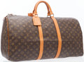 Luxury Accessories:Travel/Trunks, Louis Vuitton Classic Monogram Canvas Keepall 55 Weekend Bag. ...