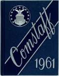 Books:Americana & American History, [Air Command and Staff College]. Comstaff. Volume One. Class of1961. Maxwell Air Force Base, [1961]. First edit...