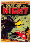 Golden Age (1938-1955):Horror, Out of the Night #1 (ACG, 1952) Condition: VG/FN....