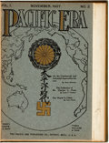 Books:Periodicals, [James McNeil Whistler]. Group of Three Bound Periodicals. IncludesPacific Era, 1907, as well as two articles about Jam...