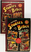 Golden Age (1938-1955):Religious, Picture Stories from the Bible Group (EC, 1944-46) Condition:Average VG.... (Total: 2 Comic Books)