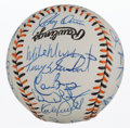 Autographs:Baseballs, 1993 American League All Star Team Signed Baseball....