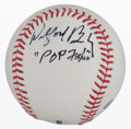 "Autographs:Baseballs, Wilford Brimley ""Pop Fisher"" From The Natural Single SignedBaseball. ..."