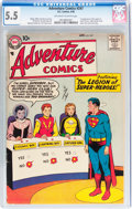 Silver Age (1956-1969):Superhero, Adventure Comics #247 (DC, 1958) CGC FN- 5.5 Off-white to white pages....