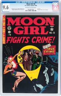 Moon Girl #8 (EC, 1949) CGC NM+ 9.6 Off-white to white pages