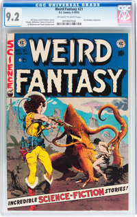 Weird Fantasy #21 (EC, 1953) CGC NM- 9.2 Off-white to white pages