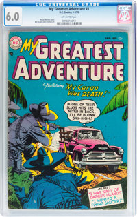 My Greatest Adventure #1 (DC, 1955) CGC FN 6.0 Off-white pages