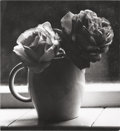 Photographs:Gelatin Silver, IRENE FAY (Russian, 1914-1986). Two Roses, 1976. Gelatin silver. 3-3/4 x 3-1/2 inches (9.5 x 8.9 cm). Signed, titled and...