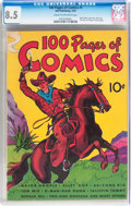 100 Pages of Comics #101 (#1) (Dell, 1937) CGC VF+ 8.5 Cream to off-white pages