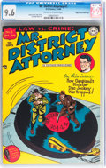 Mr. District Attorney #2 Mile High pedigree (DC, 1948) CGC NM+ 9.6 Off-white to white pages