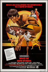 "Game of Death (Columbia, 1979). One Sheet (27"" X 41"") & Uncut Pressbook (8.5"" X 14""). Action..."