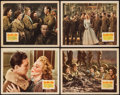 "Movie Posters:War, Four Jills in a Jeep (20th Century Fox, 1944). Lobby Cards (4) (11""X 14""). War.. ... (Total: 4 Items)"
