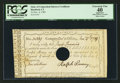 Colonial Notes:Connecticut, Connecticut Interest Certificate Hartford, CT November 4, 1789 5s PCGS Apparent Extremely Fine 40.. ...