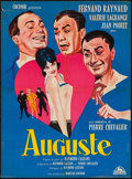 "Movie Posters:Foreign, Auguste (Concinor, 1961). French Affiche (22.5"" X 30.5""). Foreign.. ..."