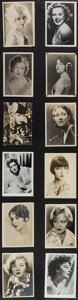 """Movie Posters:Miscellaneous, Female Star Lot (1920s-1940s). Fan Photos (133) (5"""" X 7"""" and Various). Miscellaneous.. ... (Total: 133 Items)"""
