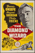 """Movie Posters:Crime, The Diamond Wizard and Other Lot (United Artists, 1954). One Sheets (2) (27"""" X 41""""). Crime.. ... (Total: 2 Items)"""