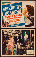 "Movie Posters:Comedy, The Warrior's Husband & Other Lot (Fox, 1933). Title Lobby Card & Lobby Card (11"" X 14""). Comedy.. ... (Total: 2 Items)"
