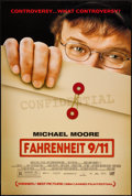"""Movie Posters:Documentary, Fahrenheit 9/11 and Other Lot (Lions Gate, 2004). One Sheets (2) (27"""" X 40"""" and 27"""" X 41"""") DS & SS. Documentary.. ... (Total: 2 Items)"""