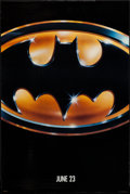 "Movie Posters:Action, Batman (Warner Brothers, 1989). One Sheets (2) (27"" X 40.5"") SSRegular & Advance. Action.. ... (Total: 2 Items)"