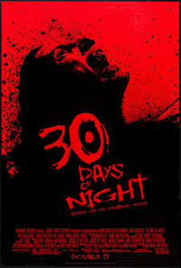 """30 Days of Night & Others Lot (Columbia, 2007). One Sheets (4) (26.75"""" X 39.75"""" & 27"""" X 4..."""