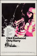 """Movie Posters:Crime, Dirty Harry (Warner Brothers, 1971). One Sheet (27.5"""" X 41"""").Crime.. ..."""