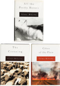 Books:Literature 1900-up, Cormac McCarthy. The Border Trilogy [All the PrettyHorses, The Crossing, Cities of the Plain]. New ... (Total: 4Items)