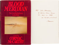 Cormac McCarthy. Blood Meridian or The Evening Redness in the West. New York: Random