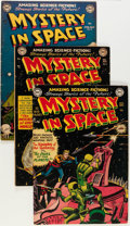 Golden Age (1938-1955):Science Fiction, Mystery in Space #3-8 and 10 Group (DC, 1951-52) Condition: AverageVG.... (Total: 7 Comic Books)