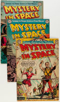 Golden Age (1938-1955):Science Fiction, Mystery in Space #9 and 11-13 Group (DC, 1952-53) Condition:Average FN-.... (Total: 4 Comic Books)