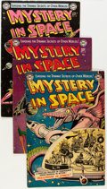 Golden Age (1938-1955):Science Fiction, Mystery in Space Golden Age Group (DC, 1953-54) Condition: AverageFN.... (Total: 5 Comic Books)