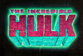 Animation Art:Production Drawing, The Incredible Hulk Title Card Art (Marvel/Saban, 1996)....