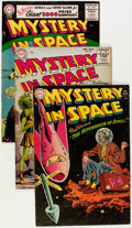 Golden Age (1938-1955):Science Fiction, Mystery in Space #22-27 and 33 Group (DC, 1954-56) Condition:Average VG/FN.... (Total: 7 Box Lots)