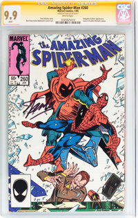 The Amazing Spider-Man #260 Signature Series (Marvel, 1985) CGC MT 9.9 White pages
