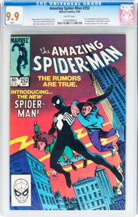 The Amazing Spider-Man #252 (Marvel, 1984) CGC MT 9.9 White pages