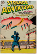 Golden Age (1938-1955):Science Fiction, Strange Adventures #46 (DC, 1954) Condition: VF-....