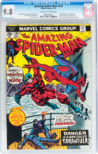 The Amazing Spider-Man #134 (Marvel, 1974) CGC NM/MT 9.8 Off-white to white pages