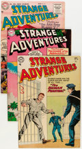 Golden Age (1938-1955):Science Fiction, Strange Adventures Group (DC, 1954-55) Condition: Average FN+....(Total: 8 Comic Books)