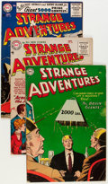 Golden Age (1938-1955):Science Fiction, Strange Adventures Group (DC, 1954-56) Condition: Average VG+....(Total: 8 Comic Books)