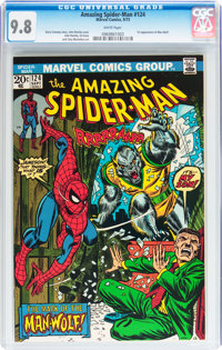 The Amazing Spider-Man #124 (Marvel, 1973) CGC NM/MT 9.8 White pages