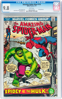 The Amazing Spider-Man #119 (Marvel, 1973) CGC NM/MT 9.8 White pages