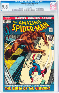 The Amazing Spider-Man #110 (Marvel, 1972) CGC NM/MT 9.8 White pages