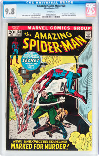 The Amazing Spider-Man #108 (Marvel, 1972) CGC NM/MT 9.8 White pages