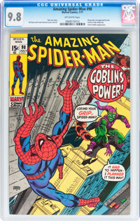 The Amazing Spider-Man #98 (Marvel, 1971) CGC NM/MT 9.8 Off-white pages