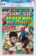 Bronze Age (1970-1979):Superhero, Giant-Size Spider-Man #3 (Marvel, 1975) CGC NM/MT 9.8 Whitepages....