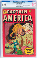 Golden Age (1938-1955):Superhero, Captain America Comics #72 (Timely, 1949) CGC FN 6.0 Cream to off-white pages....