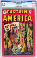 Golden Age (1938-1955):Superhero, Captain America Comics #73 (Timely, 1949) CGC VG 4.0 Cream to off-white pages....