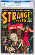 Golden Age (1938-1955):Horror, Strange Tales #10 (Atlas, 1952) CGC FN 6.0 Light tan to off-whitepages....
